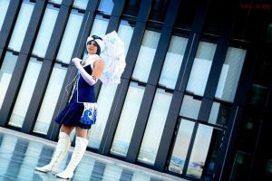 Thus a blue sky looks-Juvia Loxar Fairy Tail Guild by Deathly-Wonderland