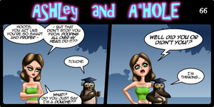Ashley and A*Hole #66 by Ashleykat