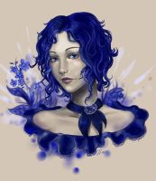 Forget-me-not by Erika-Xero