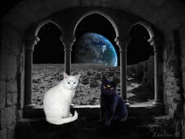 Artemis and Luna by Loulou13