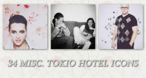 Icons: Tokio Hotel set9 by Mariesen