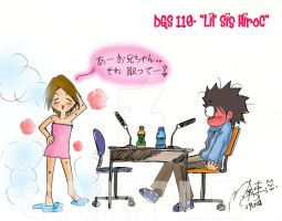 DGS 110- HiroC in pink towel by nekojiro