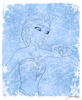 Frozen: Let it go (part 2) by Intrecciafoglie