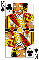 Usopp - King of Clubs by aksarah