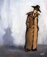 Inspector Clueless by sketchling