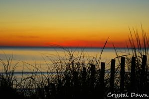 Cape Charles Sunset by poetcrystaldawn