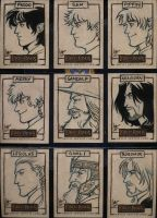 LOTR Masterpieces II 136-144 by aimo