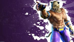 Tekken 6 wall King -Purple by nin-er