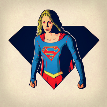 Supergirl by AbelMvada