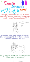 introduction meme - Colbie by klevry1