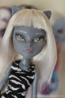 Repainted Meowlody by MySweetQueen-Dolls