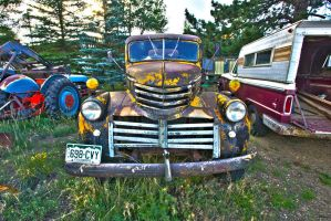 Old Chevy Truck HDR by sequential