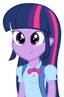 Equestria Girls - Twilight Sparkle by Psalmie