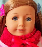 American Girl Doll by cpcandyheart9