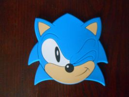 Sonic PVC Coaster by BoomSonic514