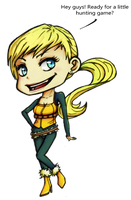 Agents - Chibi Oxana by LaLunatique
