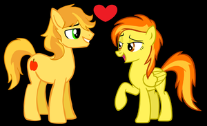 Braeburn and Spitfire by 3D4D