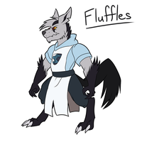 Fluffles Reference by ChelseaDanger