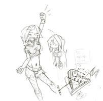 Daily Sketch Fucking 50: 50 Sketches!! by ReluctantZombie