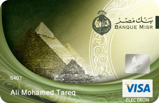 misr bank card 12 by mousallm
