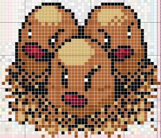 Dugtrio Pattern by takocos
