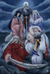The Family of Inu Daiyoukai by josephinekazuki