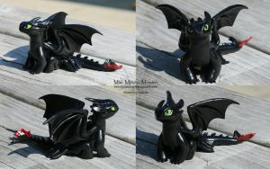 Toothless from How to Train your Dragon by MiniMythicalMonsters