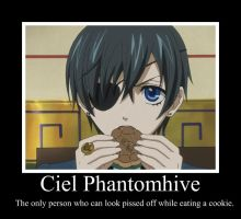 Cookie Time With Ciel by bushabunny