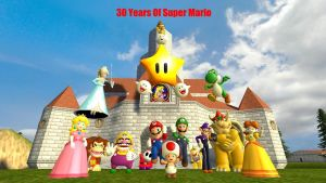 30 years Of Mario by Time-Cop131