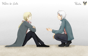 Fritz and Prussia by Shizunette