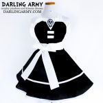 Death the Kid -Soul Eater- Cosplay Pinafore by DarlingArmy