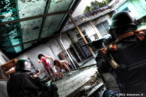 Securing Raccoon City by adaman77