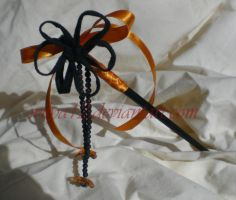October style hair stick by Wilya12
