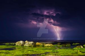 Storm deep into the sea by JosivBG