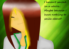 I haven't smiled in a while.. by PrincetonsMonster