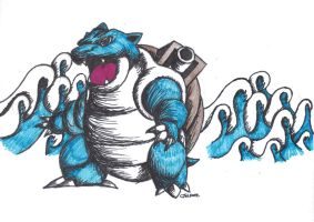 Bastoise by Kyg0n