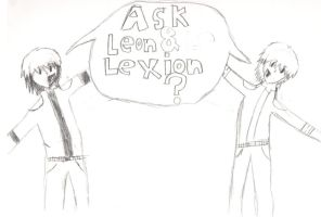 ask leon and lexion by demonxslayer12