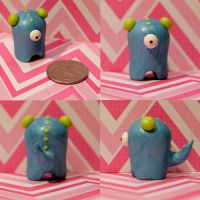 Winnifred the Timid Monster by TimidMonsters