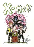 pocket X-Men by DALBELLO182