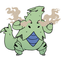 tyranitar by nastyjungle
