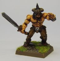MORDHEIM Chaos Marauder (Hung Tribe) by FraterSINISTER