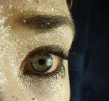 Horus Glitter Eye Stock V by Melyssah6-Stock