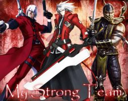 My Strong Team by MissCatarina