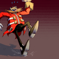 Clumsy Eggman by Saphfire321