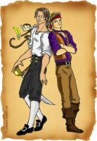 J2-Monkey Island. Jared Jensen by Deerane