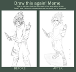 Draw This Again Meme -Sasuke- by Sing-sei