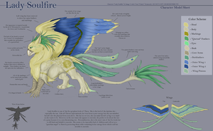 Gryphon Lords - Soulfire by Ulario