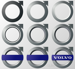 VOLVO LOGO Tutorial by BirdofaBirch
