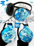 Travel the Universe Headphones by Bobsmade