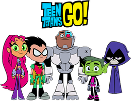 Teen Titans Go!: Team Photo by imperial96